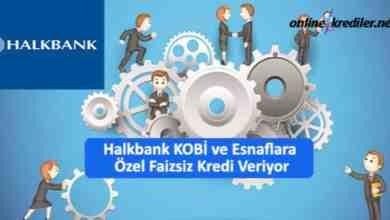 Photo of Halkbank KOBİ ve Esnaflara Özel Faizsiz Kredi Veriyor