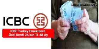 icbc emekli kredi başvurusu