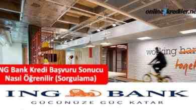 Photo of ING Bank Kredi Başvuru Sonucu Nasıl Öğrenilir (Sorgulama)
