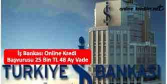 is bankasi online kredi