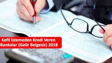 Photo of Kefil İstemeden Kredi Veren Bankalar (Kefilsiz)