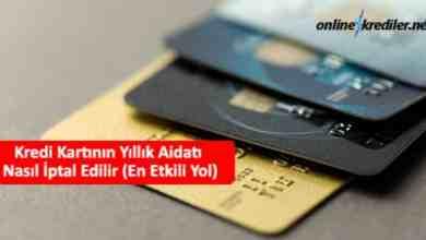 Photo of Kredi Kartının Yıllık Aidatı Nasıl İptal Edilir (En Etkili Yol)