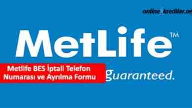 Photo of 08502220638 Metlife BES İptali Telefon Numarası Ayrılma Formu