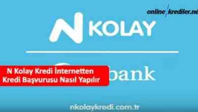 Photo of N Kolay Kredi İnternetten Kredi Başvurusu Nasıl Yapılır