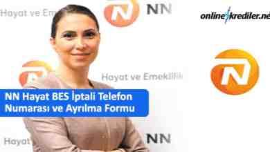 Photo of NN Hayat BES İptali Telefon Numarası ve Ayrılma Formu