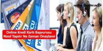 online kredi kartı başvurusu