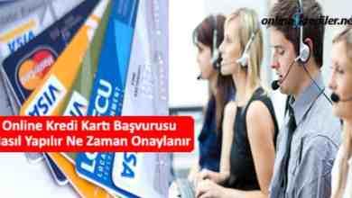 Photo of Online Kredi Kartı Başvurusu Nasıl Yapılır Ne Zaman Onaylanır