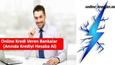 Photo of Online Kredi Veren Bankalar (Anında Krediyi Hesaba)