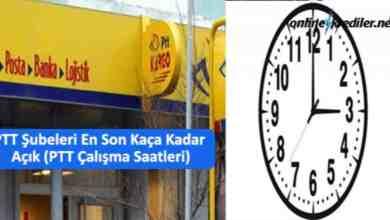 Photo of PTT Şubeleri En Son Kaça Kadar Açık (PTT Çalışma Saatleri)