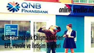Photo of QNB Finansbank Çalışma Saatleri-EFT Havale İletişim Bilgileri