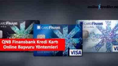 Photo of QNB Finansbank Card Finans Kredi Kartı Online Başvuru