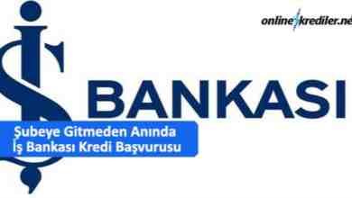 Photo of Şubeye Gitmeden Anında İş Bankası Kredi Başvurusu