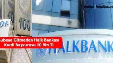 Photo of Şubeye Gitmeden Halk Bankası Kredi Başvurusu 10 Bin TL