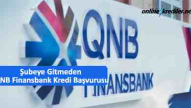 Photo of Şubeye Gitmeden QNB Finansbank Anında Kredi Başvurusu