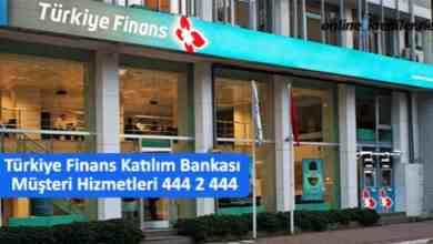 Photo of Türkiye Finans Katılım Bankası Müşteri Hizmetleri 444 2 444