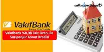 vakıfbank sarı panjur konut kredisi