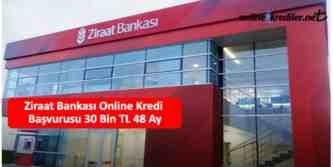 ziraat online kredi