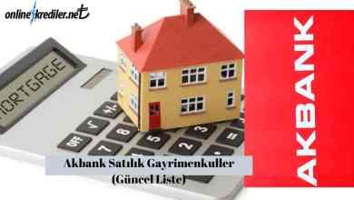 Photo of Akbank Satılık Gayrimenkuller (Güncel Liste)