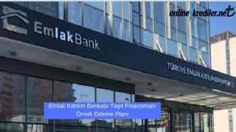Emlak Bankasi tasit finansmani