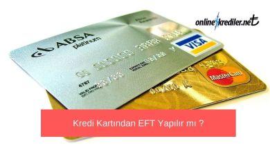 Photo of Kredi Kartından EFT Yapılır mı ? (Evet !)