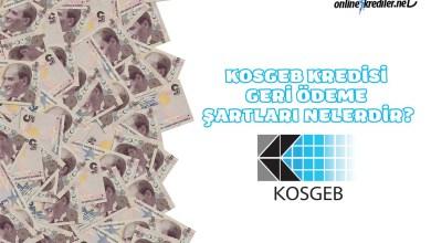 Photo of KOSGEB Kredisi Geri Ödeme Şartları Nelerdir?