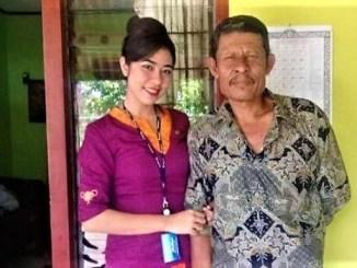 Sosok Pramugari Sriwijaya Air SJY 182, Mia Tre Setiayani Wadu yang Aktif di GP GPIB Maranatha Denpasar