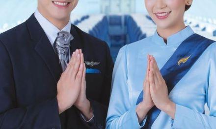 BANGKOK AIRWAYS CELEBRATES SONGKRAN FESTIVAL 2019 WITH CABIN CREW IN SPECIAL UNIFORMS