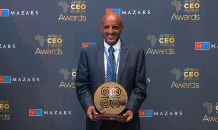ETHIOPIAN WINS THE PRESTIGIOUS 'AFRICAN CHAMPION OF THE YEAR' AWARD ADDIS ABABA