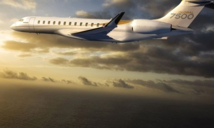 WORLD'S LARGEST AND LONGEST-RANGE BUSINESS JET, MAKES ABACE DEBUT IN CHINA