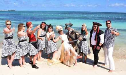 PIRATE THEMED WEDDING IN THE BAHAMAS