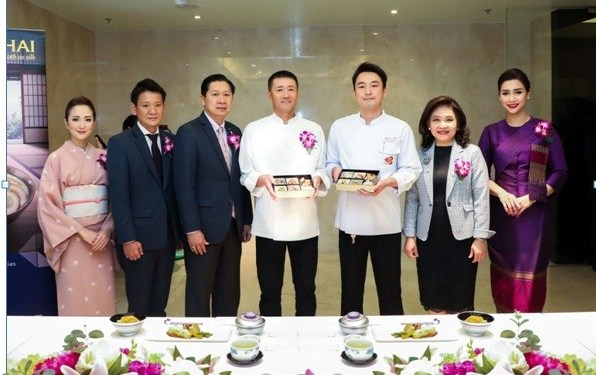 THAI SERVES AUTHENTIC JAPANESE FOOD ON BANGKOK-JAPAN ROUTES