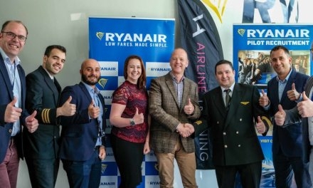 Ryanair Launches New Pilot Training Programme With VA Airline Training