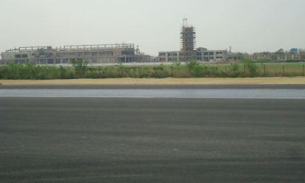 Runway at Gautam Buddha International Airport ready