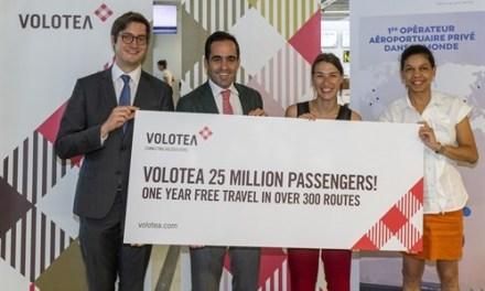 VOLOTEA REACHES ITS 25 MILLION PASSENGERS