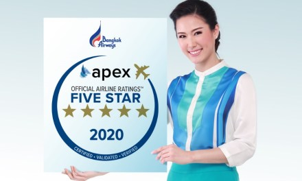 Bangkok Airways named 2020 Five Star Major Airline by APEX