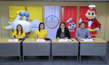 Cebu Pacific is the official airline for Environment partner of the 9th Jollibee Family Values Awards