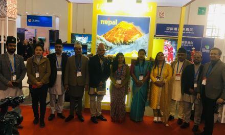 Nepal promotes VNY2020 in CITM Kunming, China
