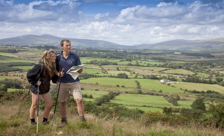 "New Tourism Ireland video Promotes "" Let's Walk """