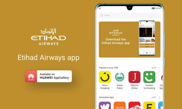 Etihad Airways App launched in Huawei Appgallery