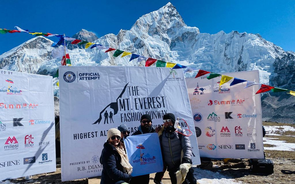 A new Guinness World Record title for Nepal