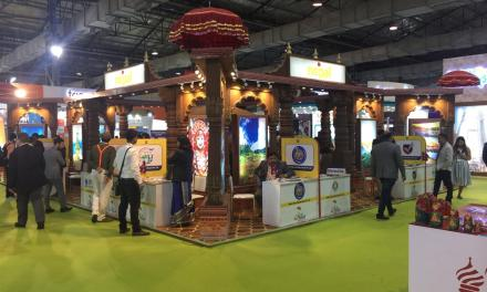 Nepal stall won Best Stall Award at OTM, Mumbai