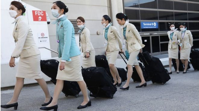 Coronavirus: Korean Air fighting for 'survival'