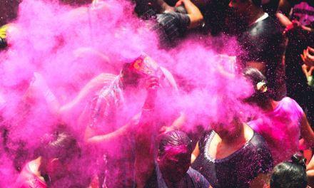 Holi or Fagu – the festival of colour