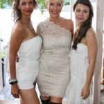 Heather Mills und Freundinnen