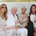Desiree Boyneburg, Angelika Spiehs, Heather Mills, Veranstalterin Daniela Matschnig