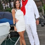 Veranstalterin Daniela Matschnig und Thomas Kramer