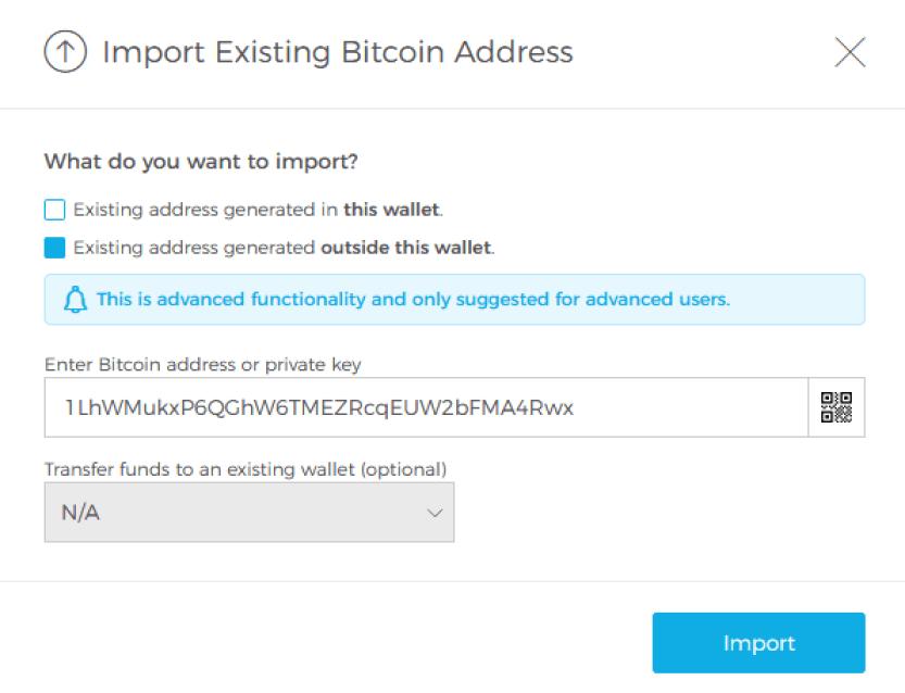 blockchain watch only wallet
