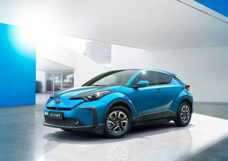 The C-HR is Toyota's first-ever EV.