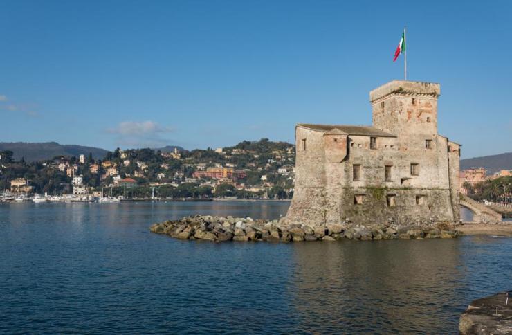 Castello di Rapallo, Rapallo, Italian Riviera, Liguria, Italy