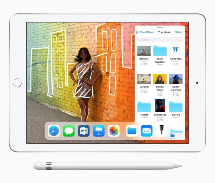 Apple iPad as released in Spring 2018. Is it about to get a radical makeover?